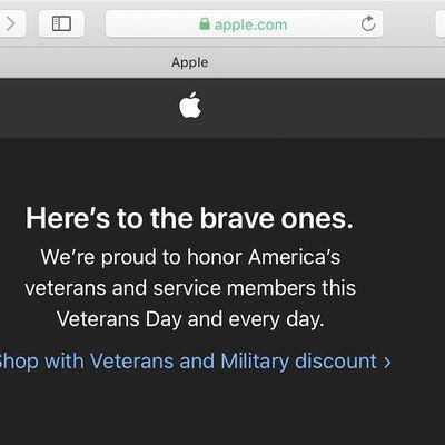 apple veterans day 2019