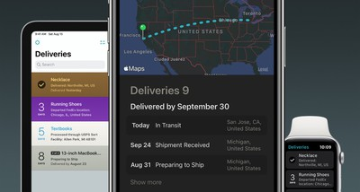 deliveries 9 app