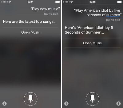 Apple Music and Siri 3