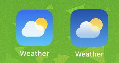 weather app icon ios 15