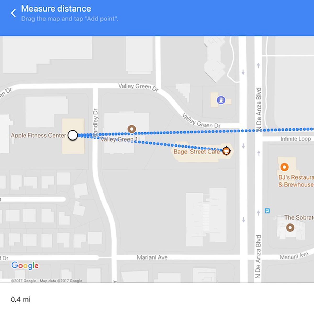 Google Maps App Update Brings Measure Distance Feature To Iphone And Ipad Macrumors