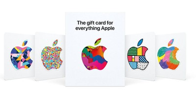 apple gift card new