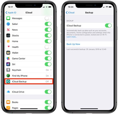 how to back up ios device 1 1