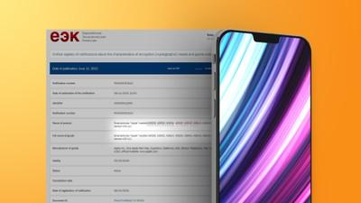 EEC Apple iphone 13 feature