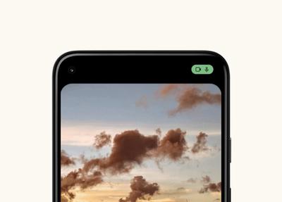 android 12 camera mic