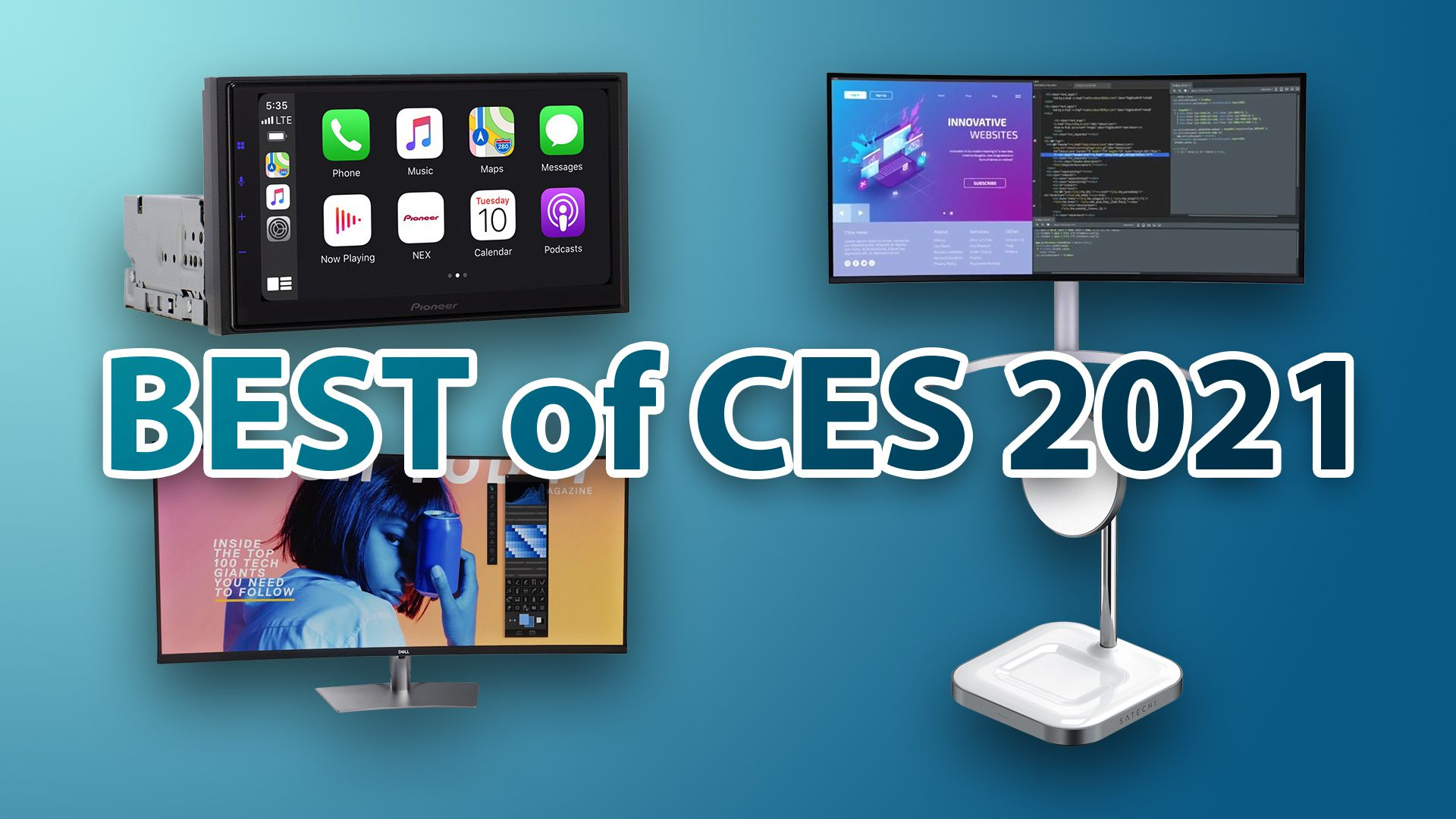 CES 2021 is taking place digitally this year, and it hasn't been as exciting as in past years because many vendors have opted out. That said,...