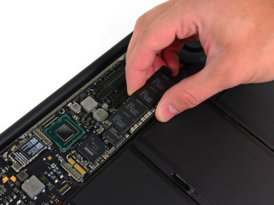 macbook air 2011 ssd ifixit