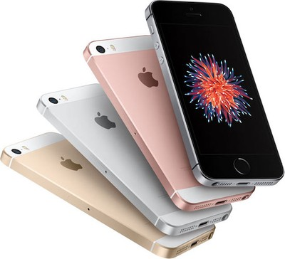 iPhone SE four colors