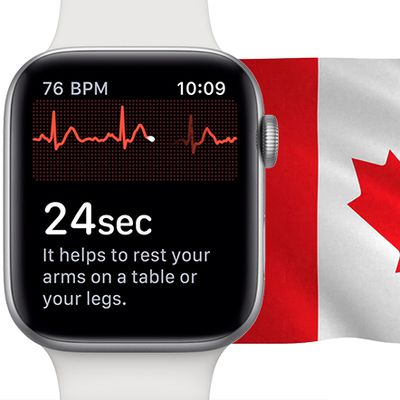 apple watch ecg canada