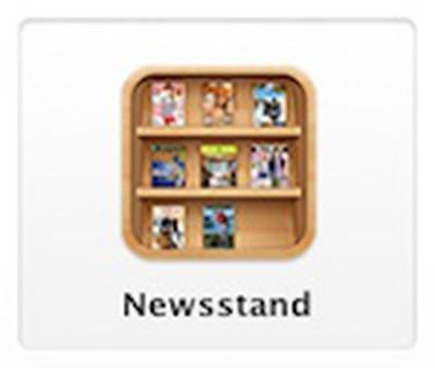 newsstand icon button