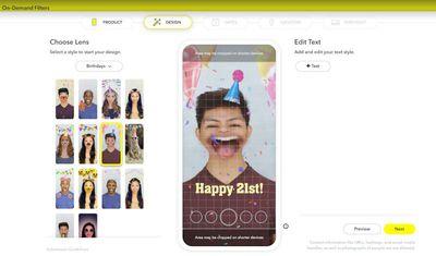 snapchat studio on web