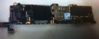 iphone 2012 logic board no shield front