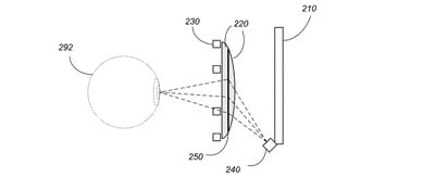 headset patent eye tracking