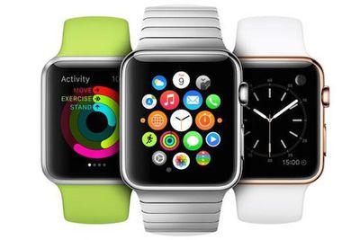 Apple Watch trio