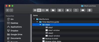 finder option key features