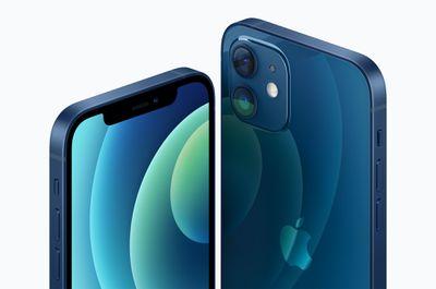 apple iphone 12 color blue