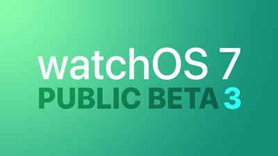 watchOS public beta 3 Feature