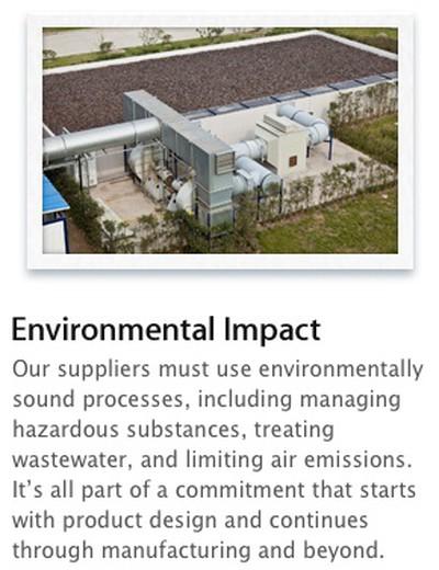 apple environmental impact