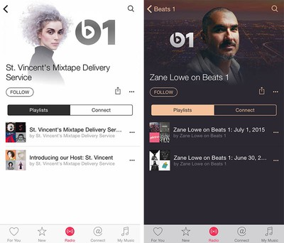 Beats 1 Radio Playlists