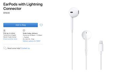 earpods lower price