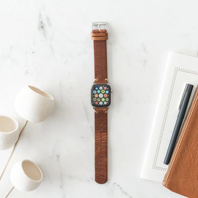 southern straps brown leather band 1