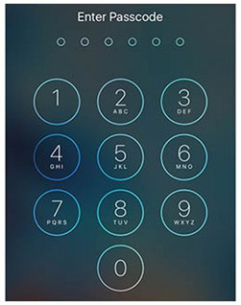 iPhone-Passcode