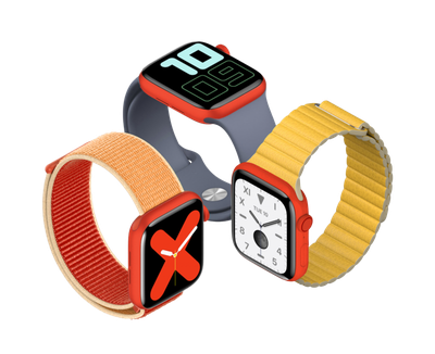 RED Apple Watch TRANS