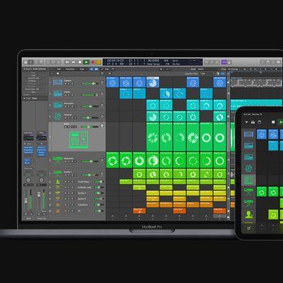 apple logic pro update macbookpro ipadpro 05122020 big