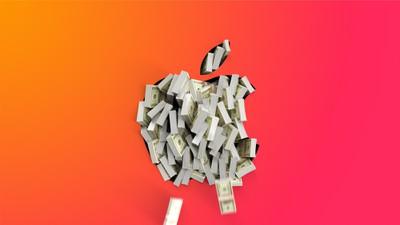 Apple Logo Cash Orange