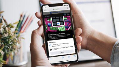 Facebook gaming web app