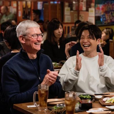 tim cook japan