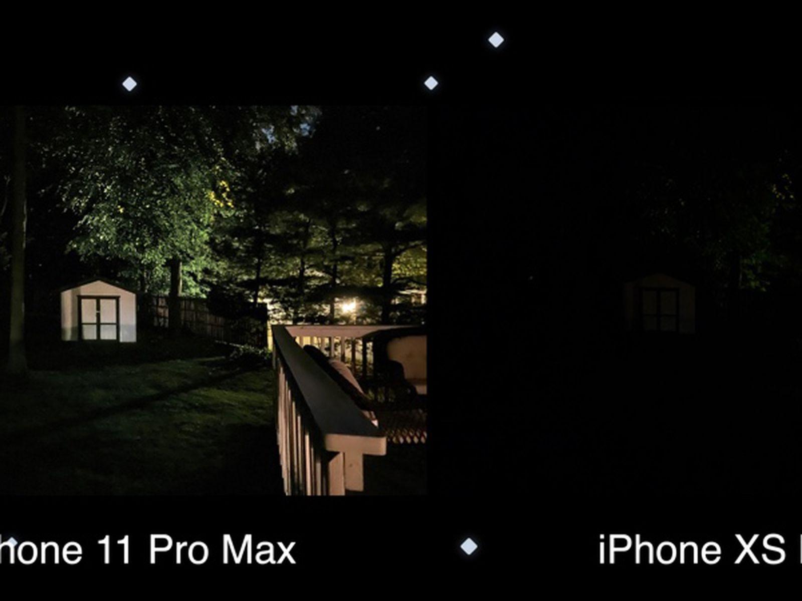 Iphone 11 Pro Max Vs Xs