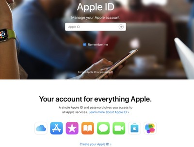 appleidwebsignup