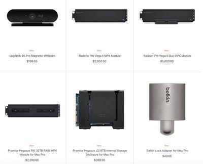 2019 mac pro accessories
