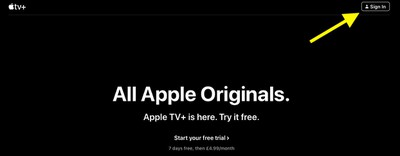 apple tv official website