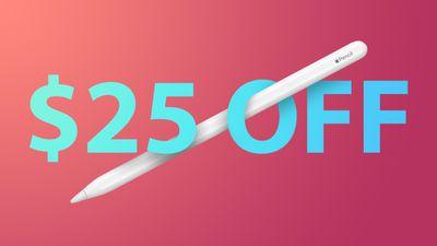 Apple Pencil 25 off