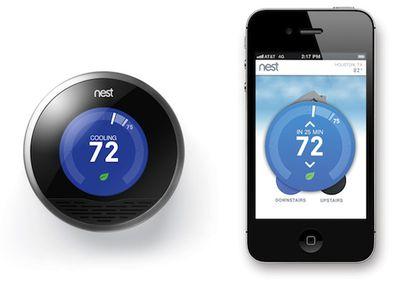 nest thermostat iphone app