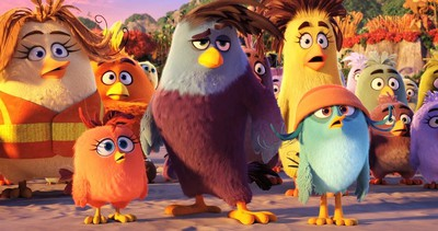 angry birds movie screen