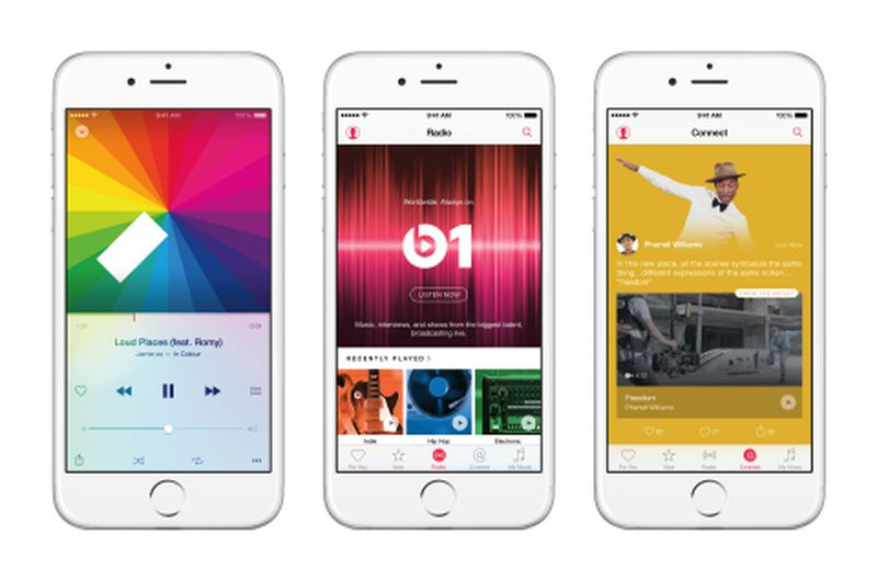 Apple Music iOS 9