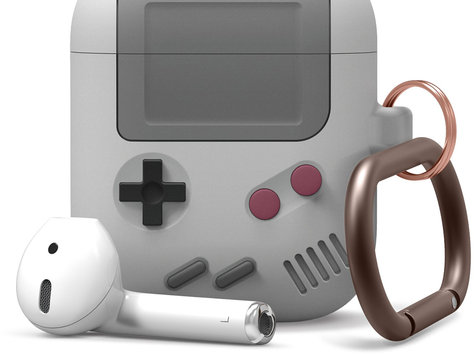 Make Your Airpods Case Look Like A Game Boy With This New Cover