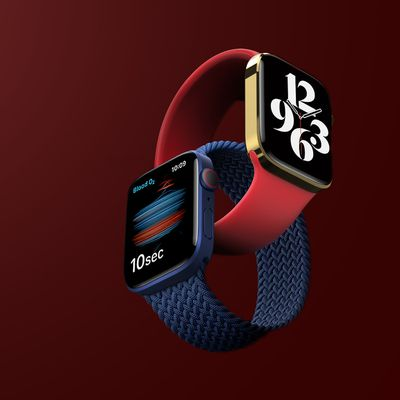 Apple Watch 7 Unreleased Feature Flat red