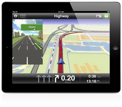 tomtom for ipad