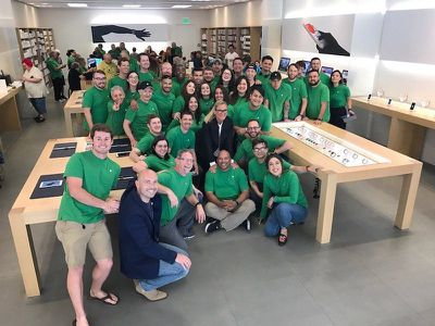 apple store earth day 2017