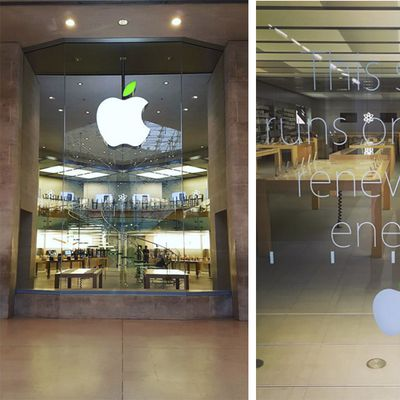 Apple Store Earth Day 2016