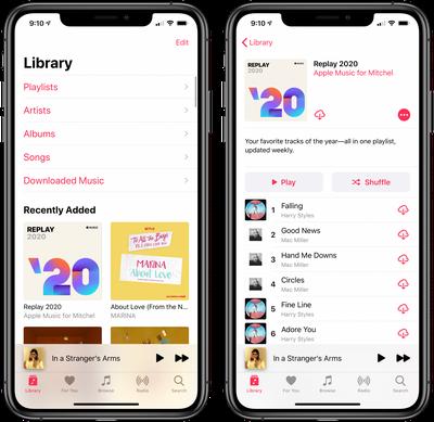 apple music replay 2020