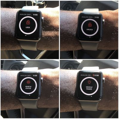toyota remote connect watch