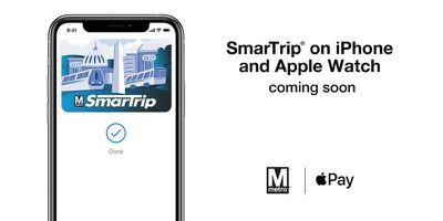 smartrip dc metro apple pay express transit mode