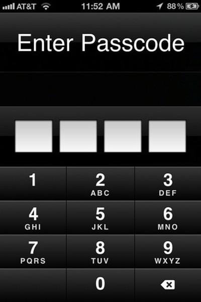 big brother camera security enter passcode
