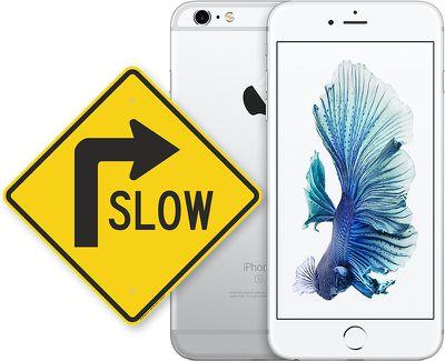 iphone slow