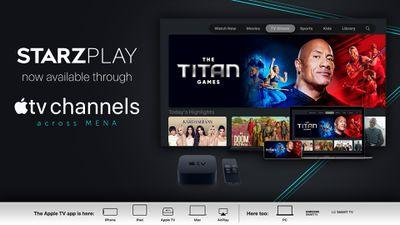 starzplay apple tv channels